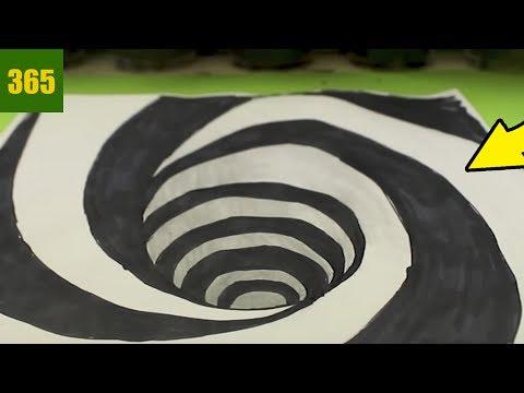 Comment Dessiner Une Illusion D Optique Trou Tutoriel