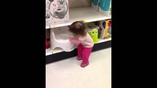 Potty training in target