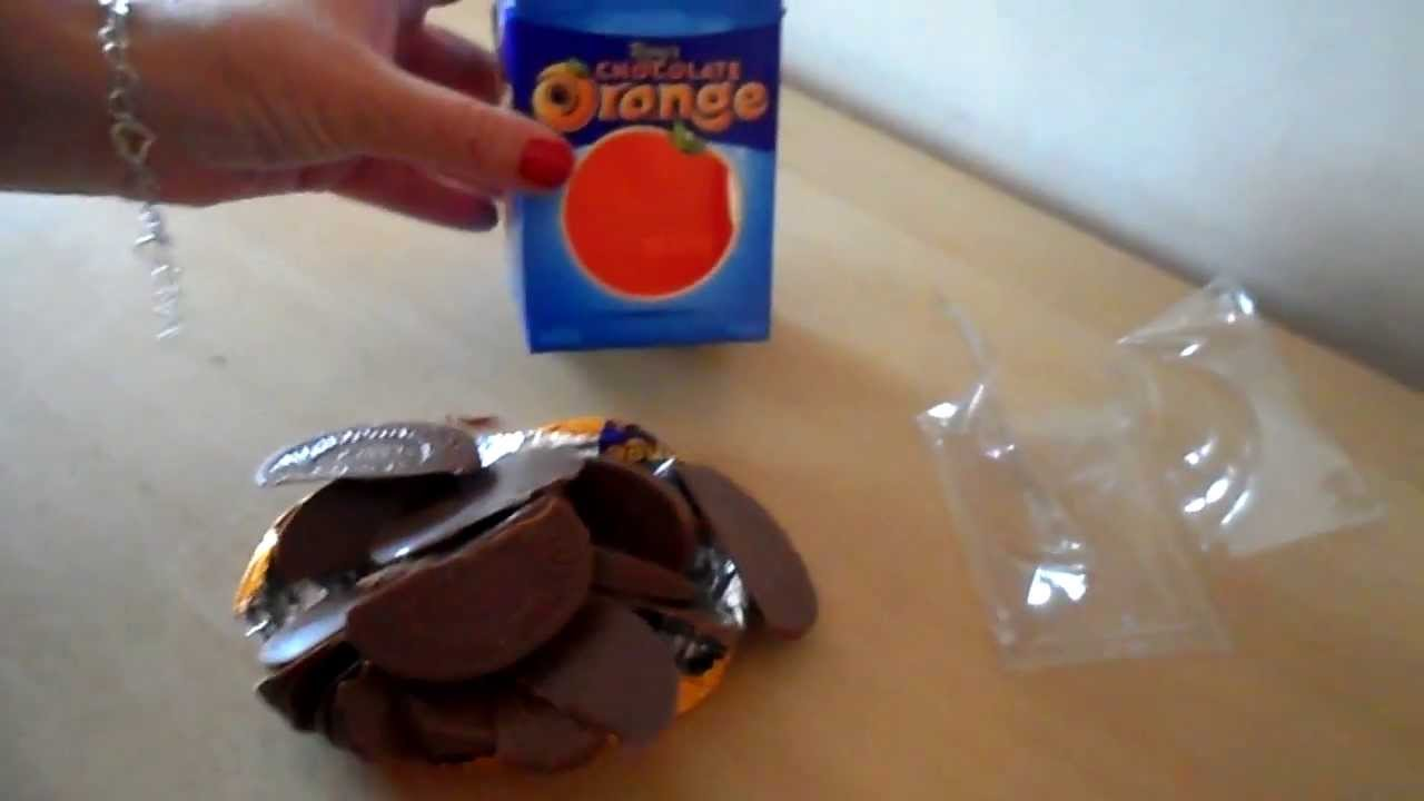 How To Open The Worlds Best Christmas Candy Terrys Chocolate Orange