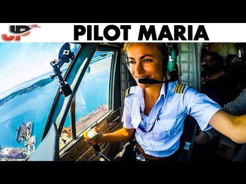 Seaplane PILOT MARIA Water Landing in Croatia