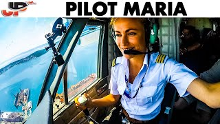 Seaplane PILOT MARIA Water Landing in Croatia