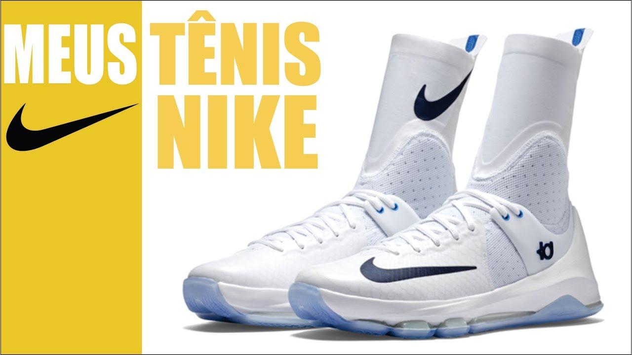 última moda ventas especiales liberar información sobre Meus tênis da Nike