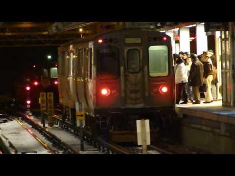 "CTA Transit: 1984 Budd Company 2800 Series ""L"" Yellow Line Shuttle Train at Howard Station"