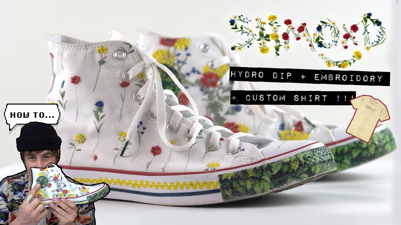 Custom Converse (HOW TO) Hydro Dipping
