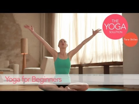 Yoga Routine for Beginners | The Yoga Solution With Tara Stiles