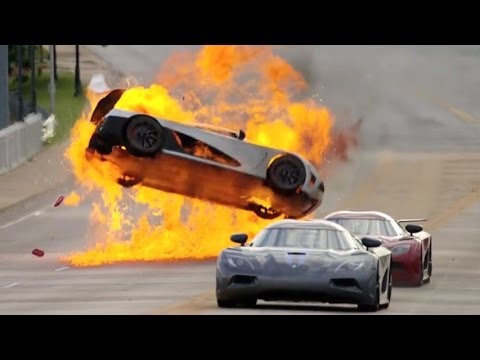 Top 10 Movie Car Crashes Youtube