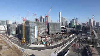 "(Tokyo 2020 Games)""The Olympic and Paralympic Village"" Time-Lapse footage_1"