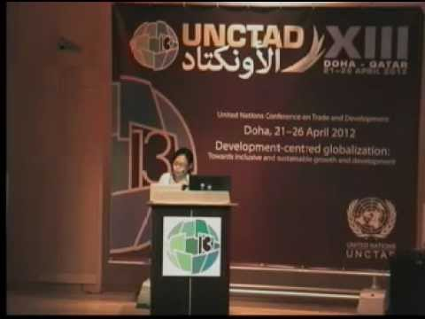 """UNCTAD XIII ITUC """"Trade for Development"""" Panel : Mikyung Ryu"""
