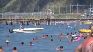 Отдых в Лоо видео пляжа(Пляжный отдых в Лоо, смотрите сайт Loo7.ru на котором представлены гостиницы в Лоо, домики в Лоо, эллинги в Лоо...., 2015-04-16T07:50:26.000Z)