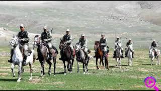Кыргызы в Сирии в составе турецкий армии