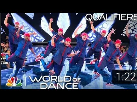 Amazing Performance By TheKingsUnited At World Of Dance || Highest Scores ||Judge Removed Their Shoe