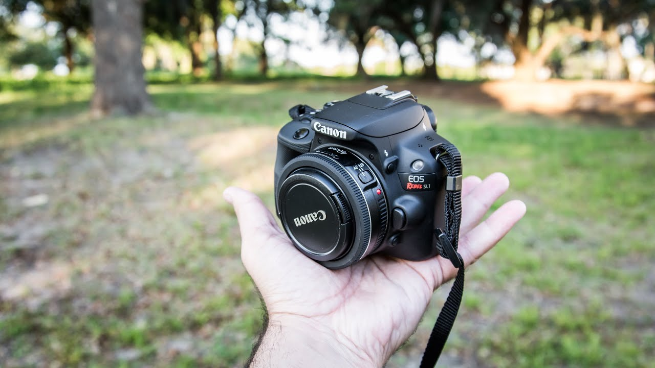 Canon SL1 / 100D Rebel Hands-On Review | with Canon 7D & Nikon D7100 ...