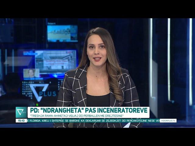 News Edition in Albanian Language - 24 Tetor 2020 - 15:00 - News, Lajme - Vizion Plus