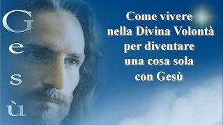 Vivere nella Divina Volontà per diventare una cosa sola con Gesù