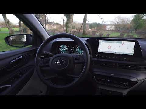 Al volante del Hyundai i20