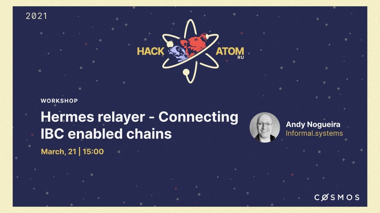 Hermes Relayer - Connecting IBC enabled chains