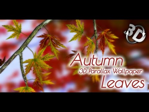 Autumn Leaves 3D Parallax Live Wallpaper for Android
