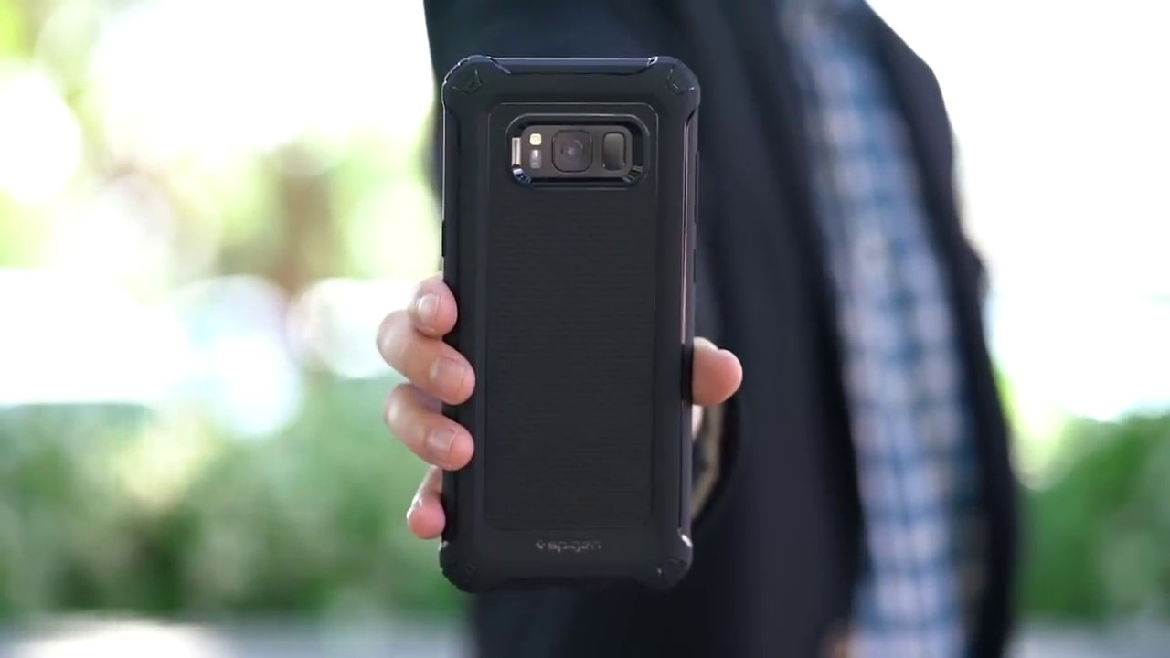 huge discount 95f68 33f83 Samsung S8 / S8 Plus Spigen Rugged Armor Extra Case