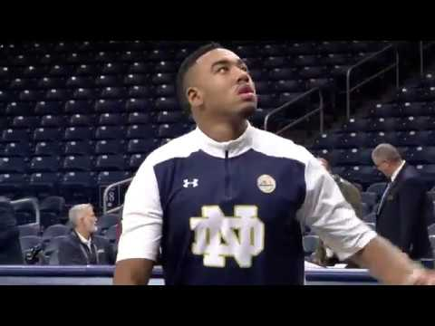 University of Notre Dame Basketball Exhibition Highlights