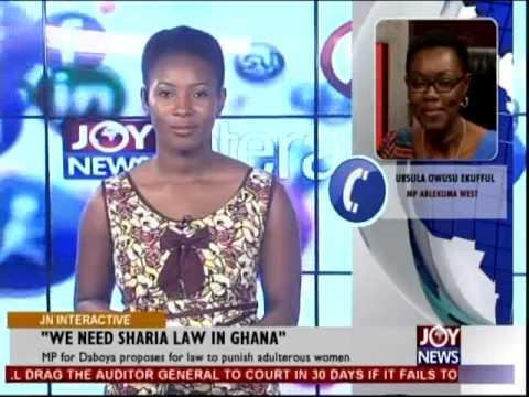 We Need Sharia Law in Ghana - Joy News Interactive (14-11-14)