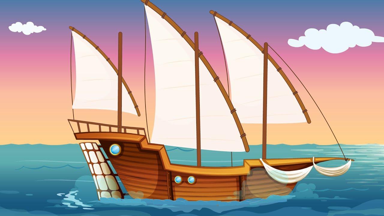 Un vapor - Cântece pentru copii   TraLaLa