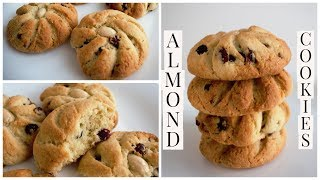 Crunchy Almond Cookies Recipe