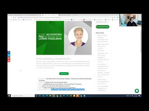 January 2021 LeanLaw Accounting Pros Monthly Online Meetup -- How to Onboard a Law Firm Client