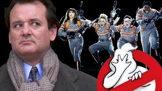Bill Murray is Not Amused (Ghostbusters 2016 Remake Spoof)