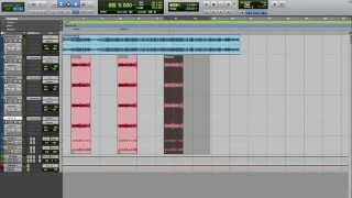 PRO TOOLS TIPS Part 1 - How To Copy/Move the Hook/Chorus in ProTools
