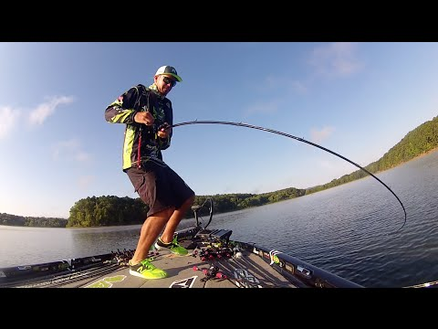 Lots of Fish Catching Action on Lake Ouachita