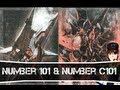 Yugioh Number 101 Silent Honors Ark Knight & Number C101 Silent Honors Dark Knight