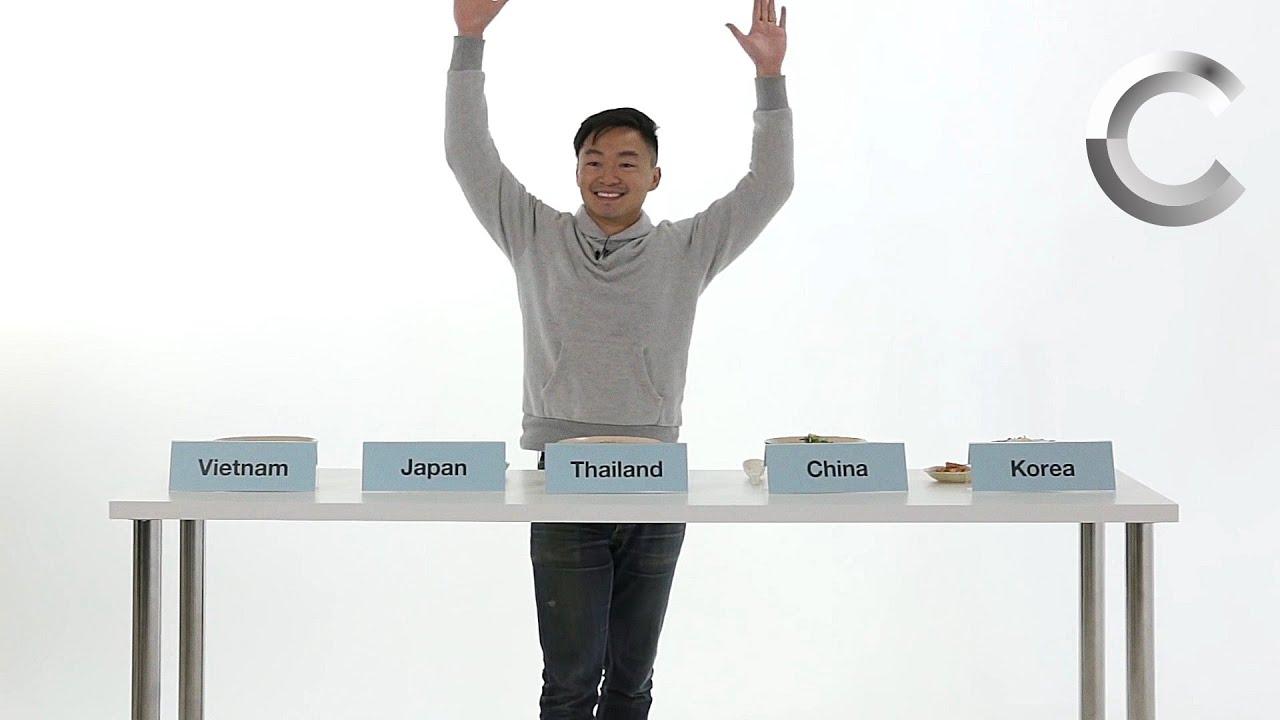 Asian People vs Asian Food (Quang) | Lineup