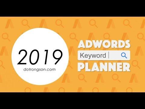 Hướng dẩn nghiên cứu từ khóa làm seo bằng công cụ keyword planner mới nhất 2019
