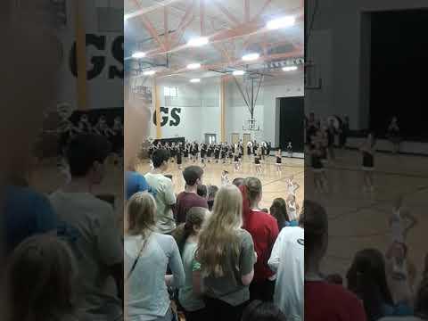 Priceville high school pep rally