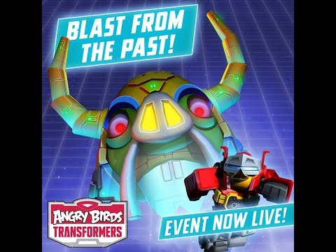 Operation BLAST PAST -  Angry Birds Transformers #28