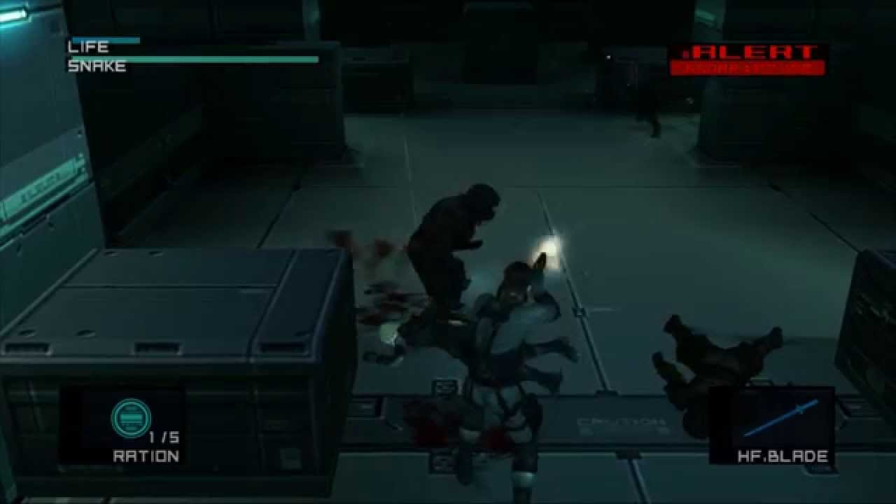 Metal Gear Solid 2 Arsenal Gear Tribute Play Part 33 Youtube