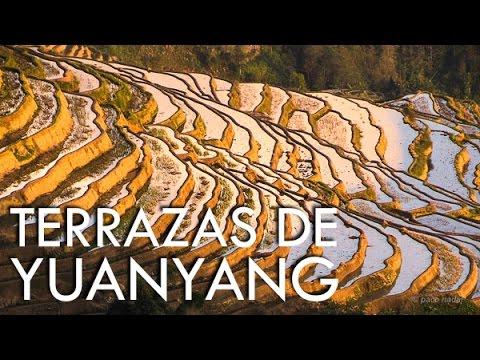 Las increíbles terrazas de arrozales de Yuanyang - Yunnan - China misteriosa