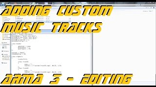 ARMA 3 Editor - Adding custom music ingame