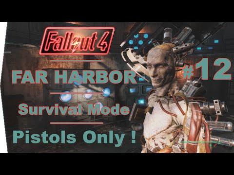 FALLOUT 4 | FAR HARBOR | Survival Mode | Pistols Only – Help For Far Harbor – Part 12 walkthrough