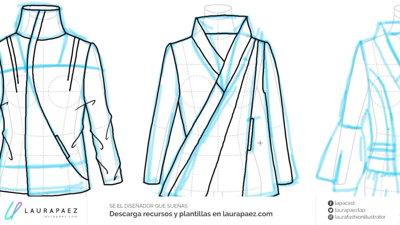 88ad8ee35741d ¿Listo para dibujar chaquetas femeninas  Vamos a bocetar algunas ideas