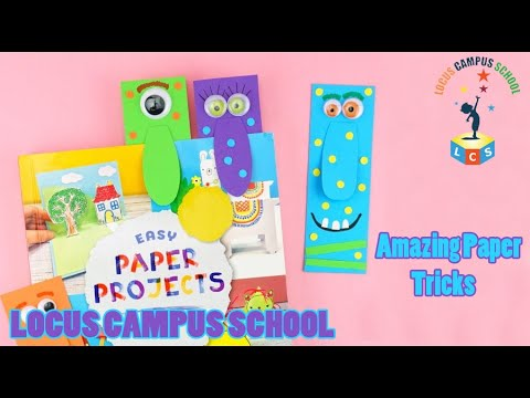 Amazing Paper Tricks | Paper Cutting | Magic Kids by Locus Campus School