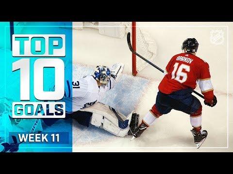 Top 10 Goals from Week 11