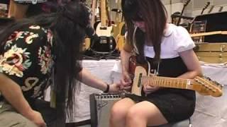 Tokyo Guitar Show 2009 report-04: St.Blues Guitar and Morley Wah review