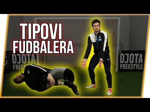 TIPOVI FUDBALERA #1