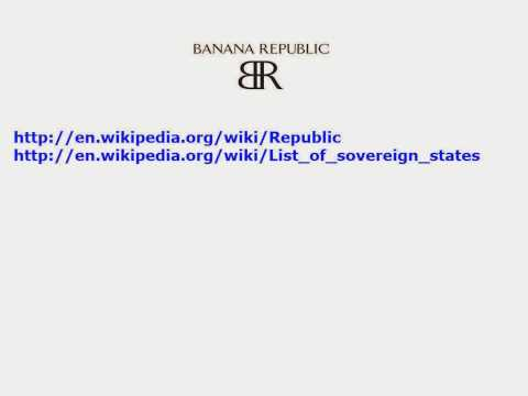 Banana Republic List Of Sovereign States