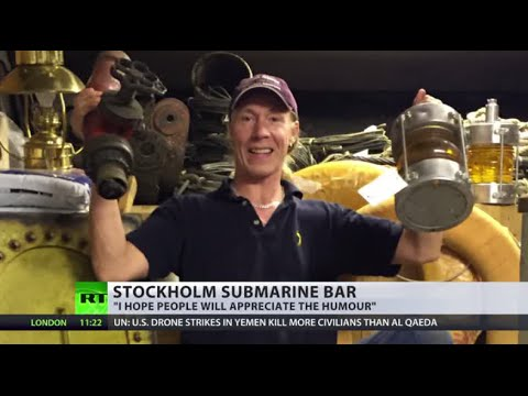 Sub & Pub: Submarine themed bar to open near Stockholm