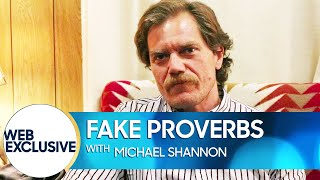 Michael Shannon Vomits When You Scratch His Back
