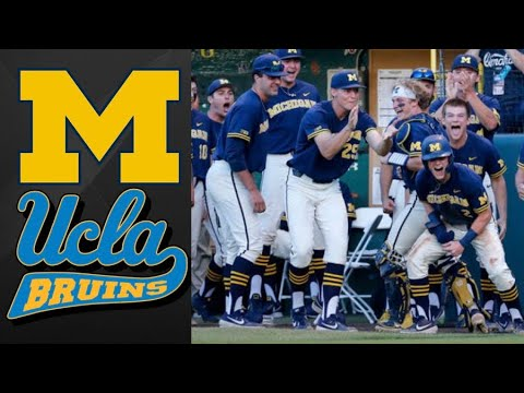 new style fd1b7 9bf4f Michigan vs #1 UCLA Super Regional Game 3 | College Baseball ...
