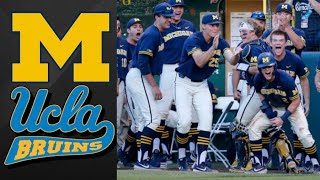 Michigan vs #1 UCLA Super Regional Game 3 | College Baseball Highlights