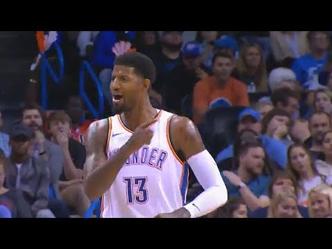 Paul George Shocks Thunder Crowd With 19 Points In The First Quarter! Thunder vs Bucks